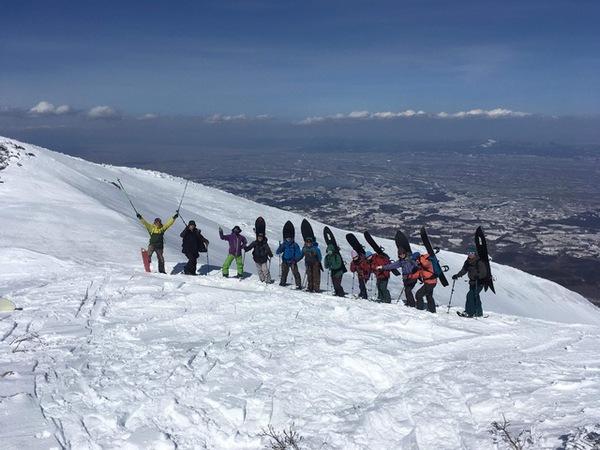 2019岩木山ツアーのご案内です。GoodAdventure x IBG @ Mt,IWAKI